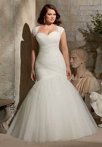 hot new custom pleated organza tulle simple elegant sexy With off white plus size wedding dresses