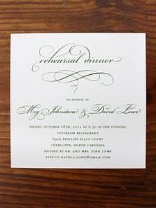 rehearsal dinner invitations etiquette template best With wedding etiquette invitations for rehearsal dinner