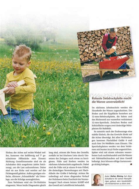 diy childrens garden cart woodarchivist