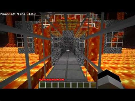 minecraft  nether secure fast travel  buildings youtube