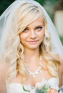 wedding caps and veils hair down wedding hairstyle with veil Hairstyles for weddings