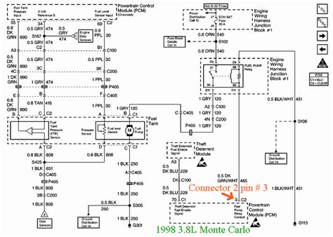98 Monte Carlo Wiring Diagram i swapped motors in my 1997 chevy originally equipped