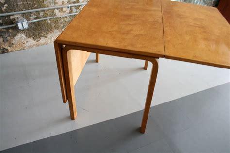 alvar aalto dining table early alvar aalto birch drop leaf dining table for artek