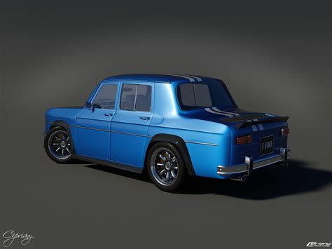 Renault 8 Gordini 1300 2 By Cipriany On Deviantart