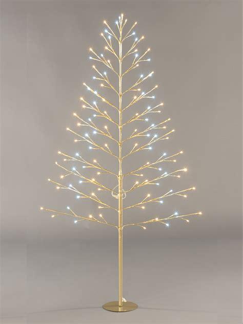 pre lit flat twig tree cm christmas decoration  led