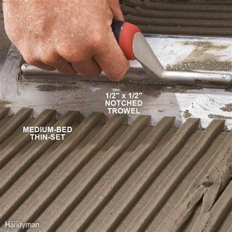 Modern Tile Installation Tips   The Family Handyman