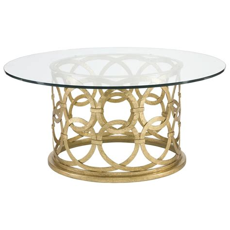 round gold coffee table antonia hollywood regency round gold metal coffee table