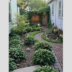 The Secret Of Successful Small Garden Design  Desain