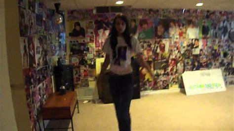 justin biebers  fan room  youtube