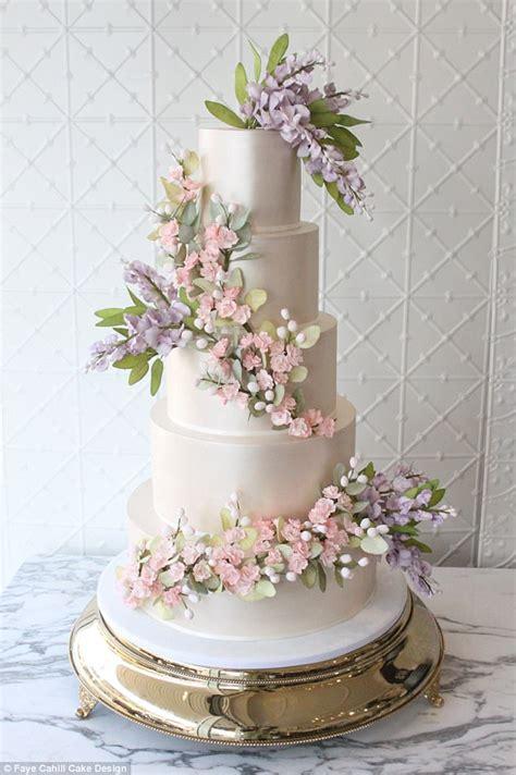 Wedding Cake Designer Shares The Biggest Trends In 2018