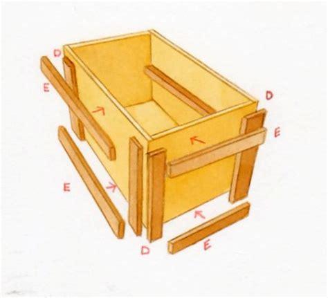 fabriquer un bac a fabriquer bac a fleur bois obasinc