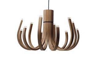 Ikea Living Room Ideas 2012 by Unusual Wooden Chandelier With Led Lamps Digsdigs
