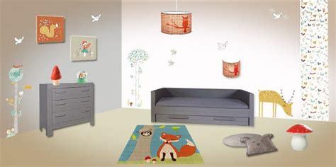 chambre foret deco chambre bebe foret visuel 2
