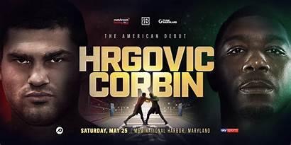 Croatian Filip Corbin Hrgovic Boxing Heavyweight Debut