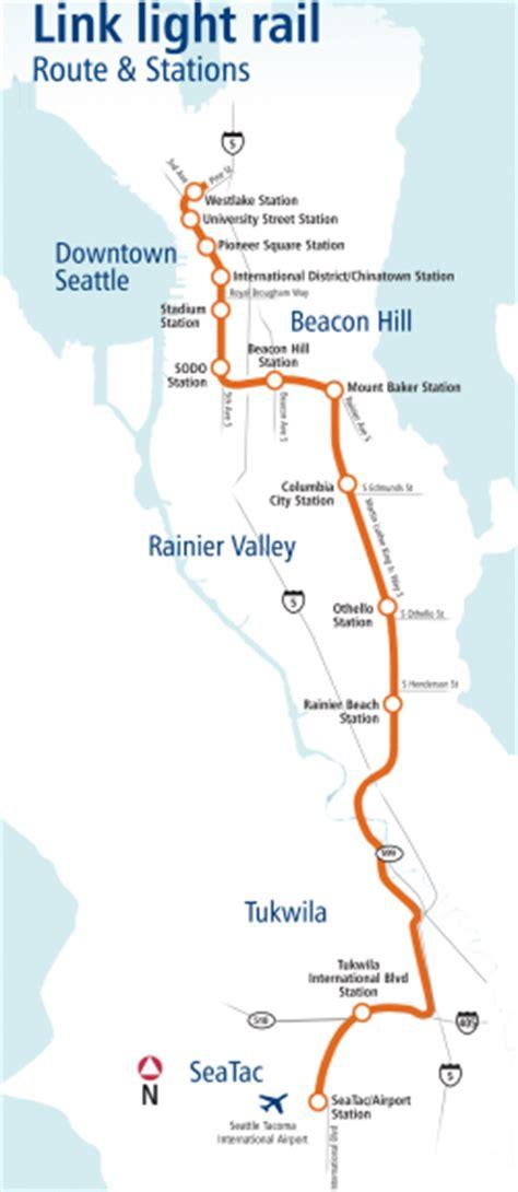 seattle light rail seattle metro map mapsof net