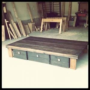 "homemade bed ""frame"" DIYs and Upcycles Pinterest"