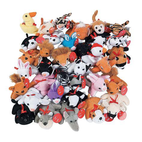 exchange mini stuffed animal assortment christmas