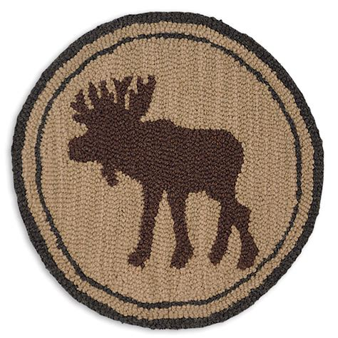 hooked chair pads great moose hooked chair pad