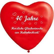 hochzeitstag 40 jahre suchergebnis auf de für rubinhochzeit geschenke