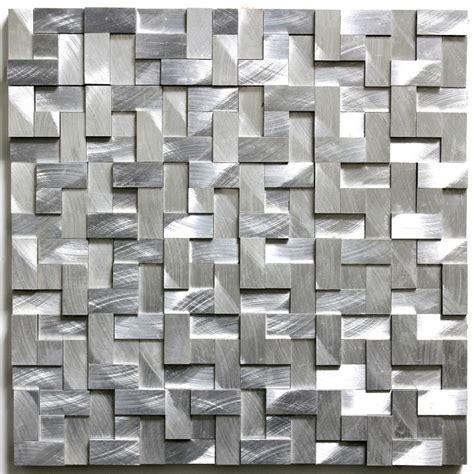 mosaique murale cuisine carrelage mosaique murale aluminium ma konik sygma