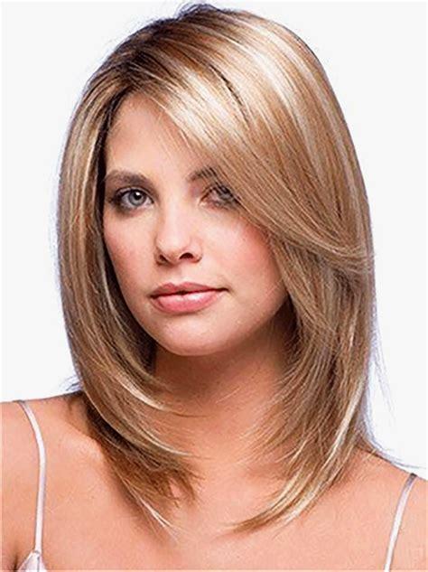 shoulder length hairstyles  fine hair
