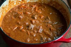 Domoda (Gambian Peanut Stew) Recipe The Daring Gourmet
