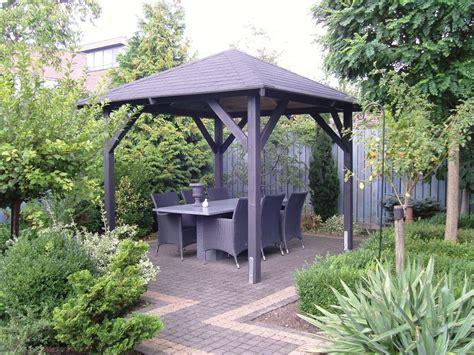 economist wooden gazebo    fixed garden canopy