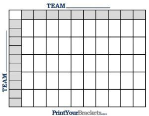 square football pool template business