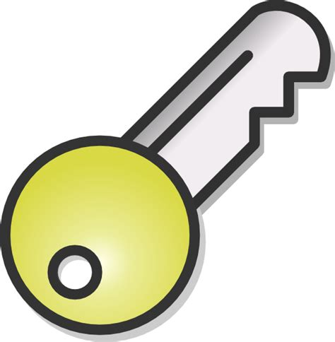 Clipart Key Key Clip At Clker Vector Clip