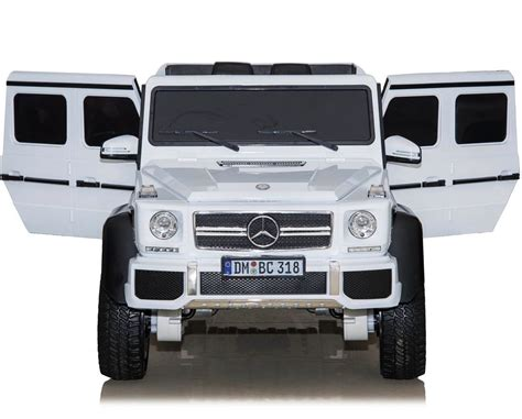 316 results for mercedes g63 6x6. Mercedes Benz G63 6WD Licensed 12V Battery Electric In White