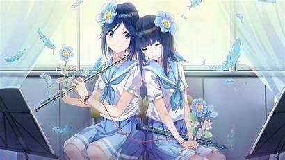 Waifu Anime Yuri Manga Euphonium Hibike Laifu