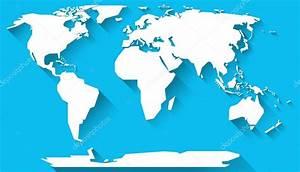Carte Du Monde Design : design plat de carte monde photographie kerdazz7 127200442 ~ Teatrodelosmanantiales.com Idées de Décoration
