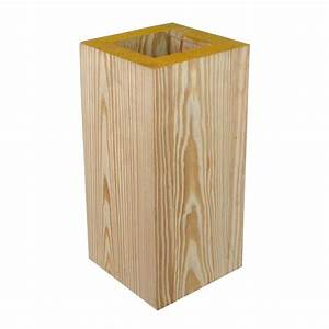 YellaWood 8 in x 8 in x 10 ft C-Grade High Density