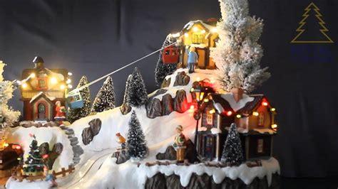royal christmas christmas village cable car lift