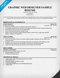 Graphic Web Designer Resume Sample resume panion