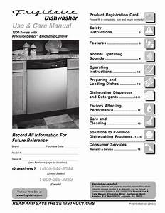 Frigidaire Fdb1050rem2 Pdf Manuals For Download