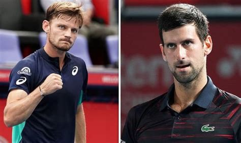 Seeking a first atp title since 2017 and fifth overall, goffin. David Goffin vows to bring fight to Novak Djokovic ahead ...