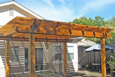 pergola design for maximum shade simple arbor decks fencing contractor talk