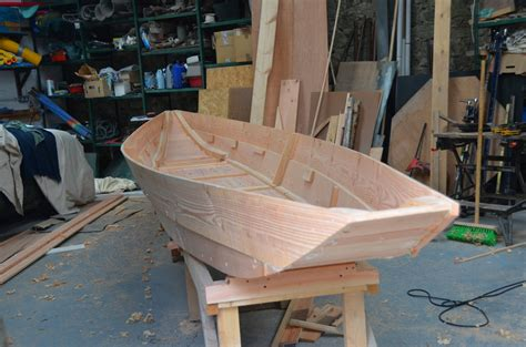 Wooden Punt Boat Plans by Shannon River Punt O Connor Wooden Boats