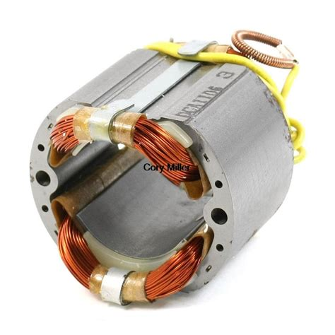 Electric Motor Stator by Ac 220v 42mm 4 Cables Replacement Electric Motor