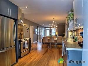 decoration cuisine salon air ouverte With idee de decoration de jardin exterieur 7 deco salon et cuisine ouverte