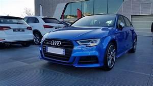 Audi A3 Bleu : pr sentation audi s3 sportback fl 2 0 tfsi quattro s tronic bleu ara s3 8v s3 berline s3 ~ Medecine-chirurgie-esthetiques.com Avis de Voitures