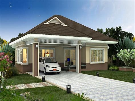 modern bungalow house plans style modern house plan