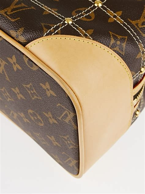 louis vuitton limited edition monogram canvas riveting bag yoogis closet