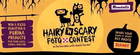 hairy  scary foto contest dress   pets  halloween
