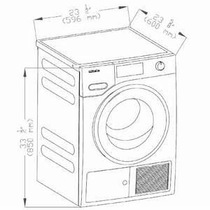 Miele Twf160wp 24 Inch Heat Pump Electric Dryer With 4 1