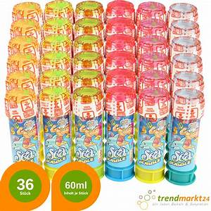 Geschenke Für 5 Euro : seifenblasen set 36 st ck x 60 ml flasche geschenke unter 5 euro g nstige geschenke ~ Buech-reservation.com Haus und Dekorationen