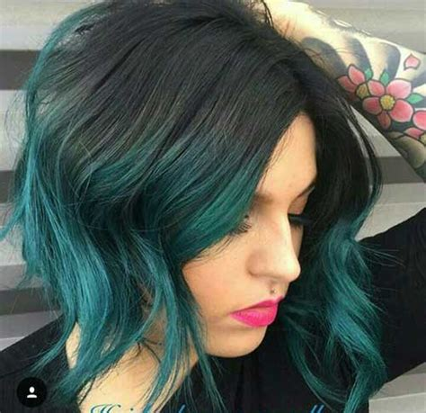 Colour Hairstyles by Unique Hair Colors On Haircuts Hairstyles