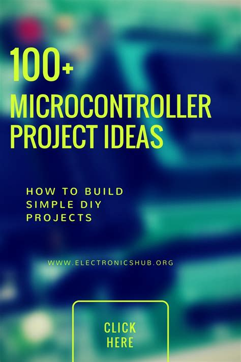 Microcontroller Based Mini Projects Ideas For