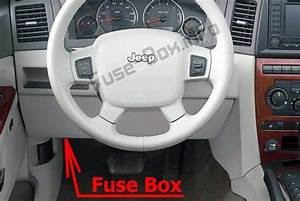 Fuse Box Diagram Jeep Grand Cherokee  Wk  2005